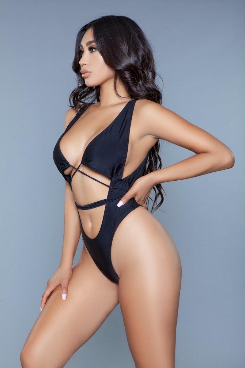 1982 - Makayla Swimsuit Black