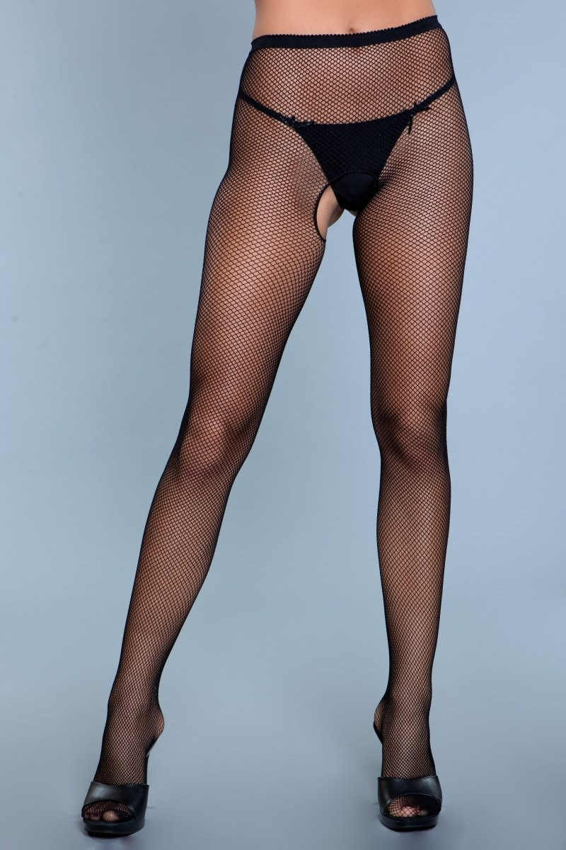 1920 Go Fish Crotchless Pantyhose