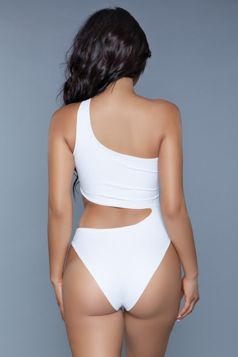 1976 Quinn Swimsuit White