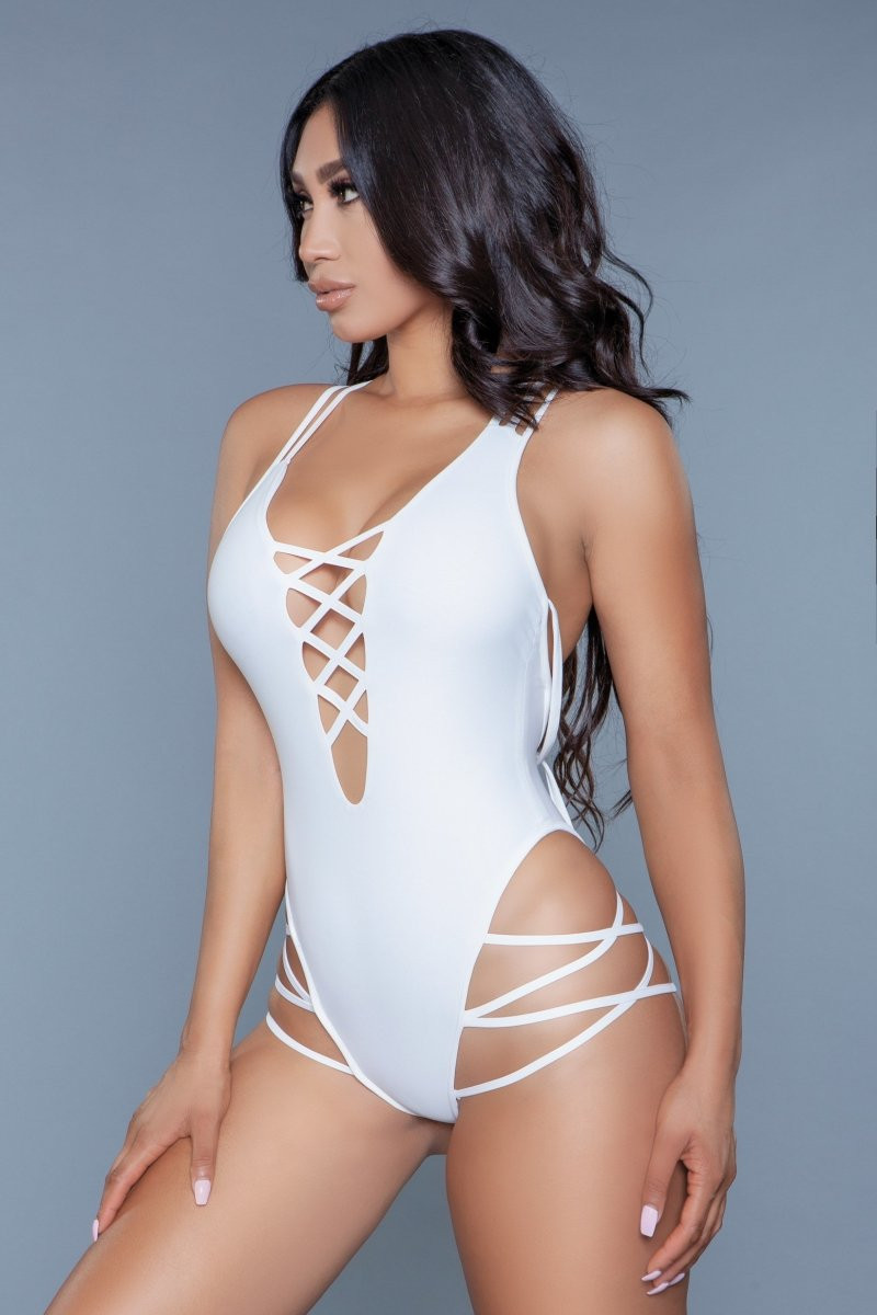 1977 Amaya Swimsuit White