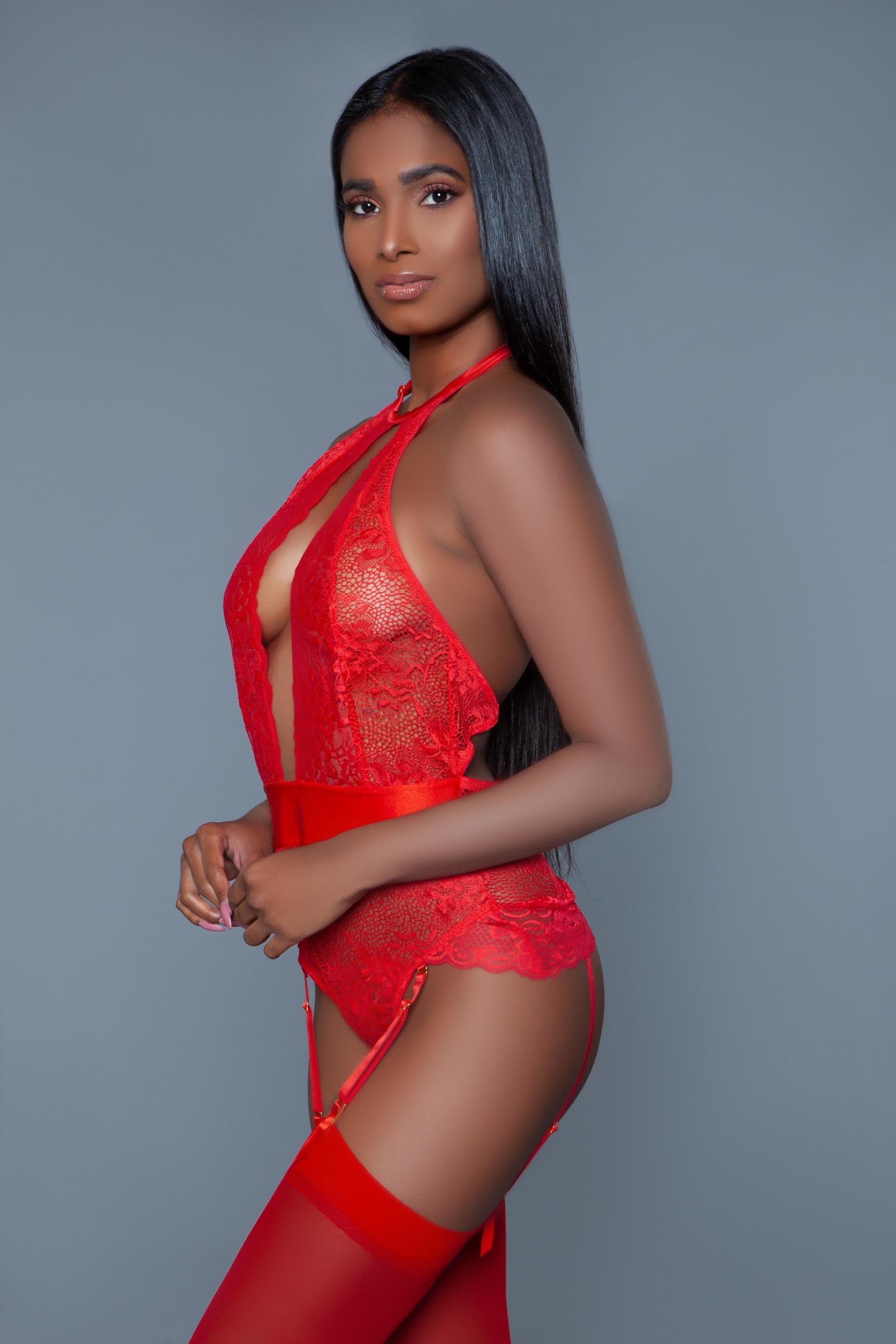 2016 Ophelia Bodysuit Red