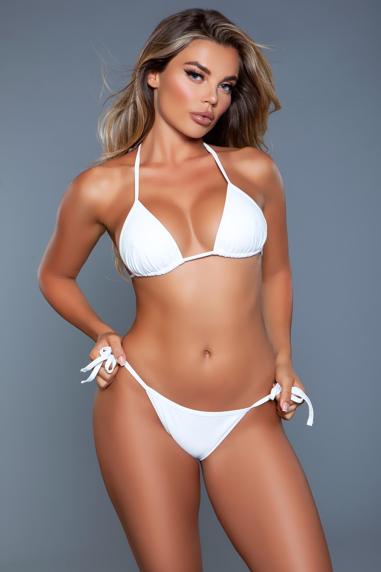 2127 Regan Swimsuit White