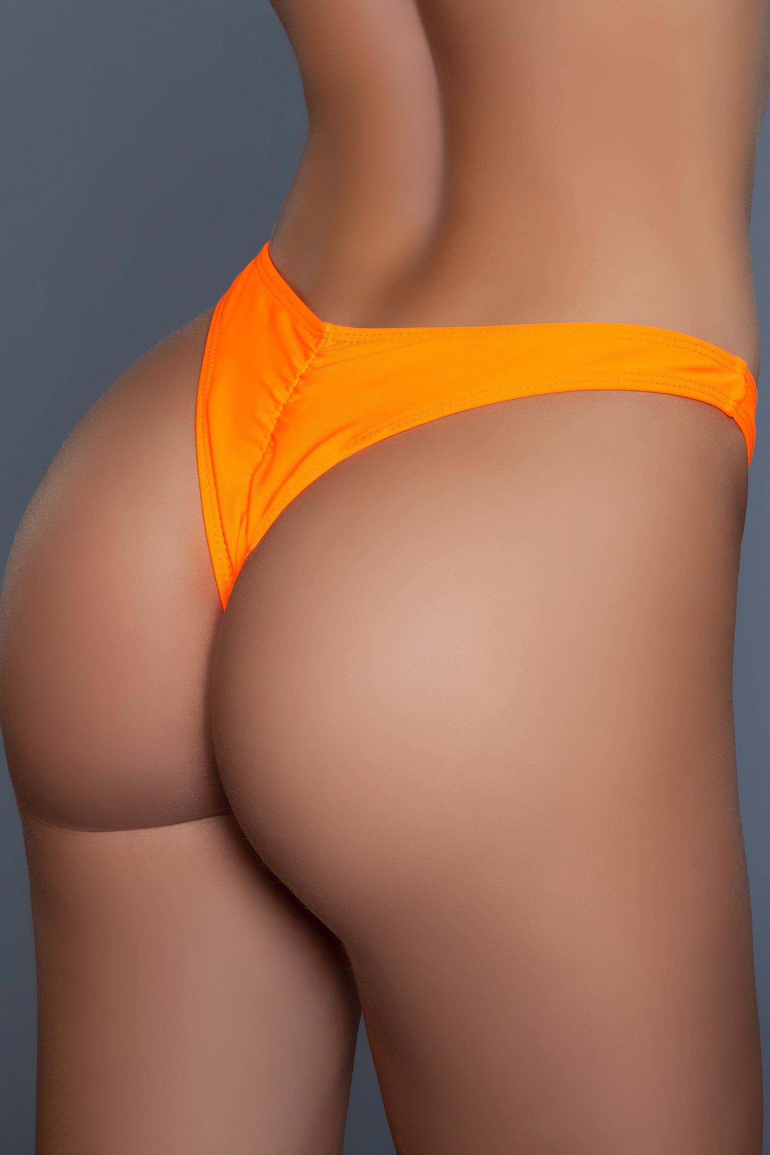 2128 Reese Bikini Bottom Orange
