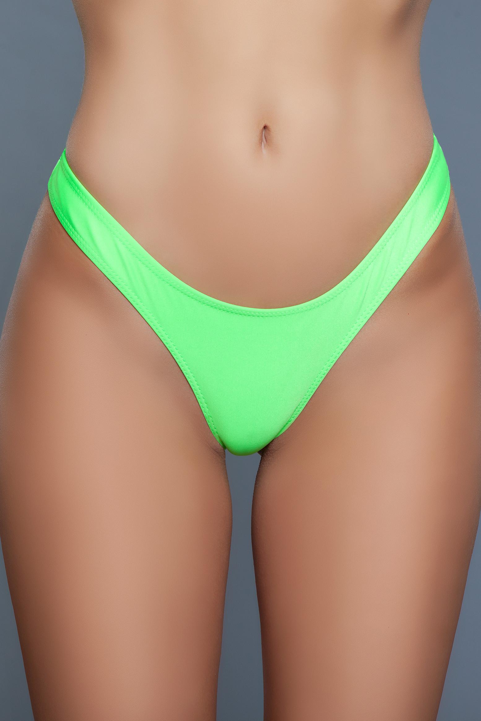2128 Reese Bikini Bottom Green