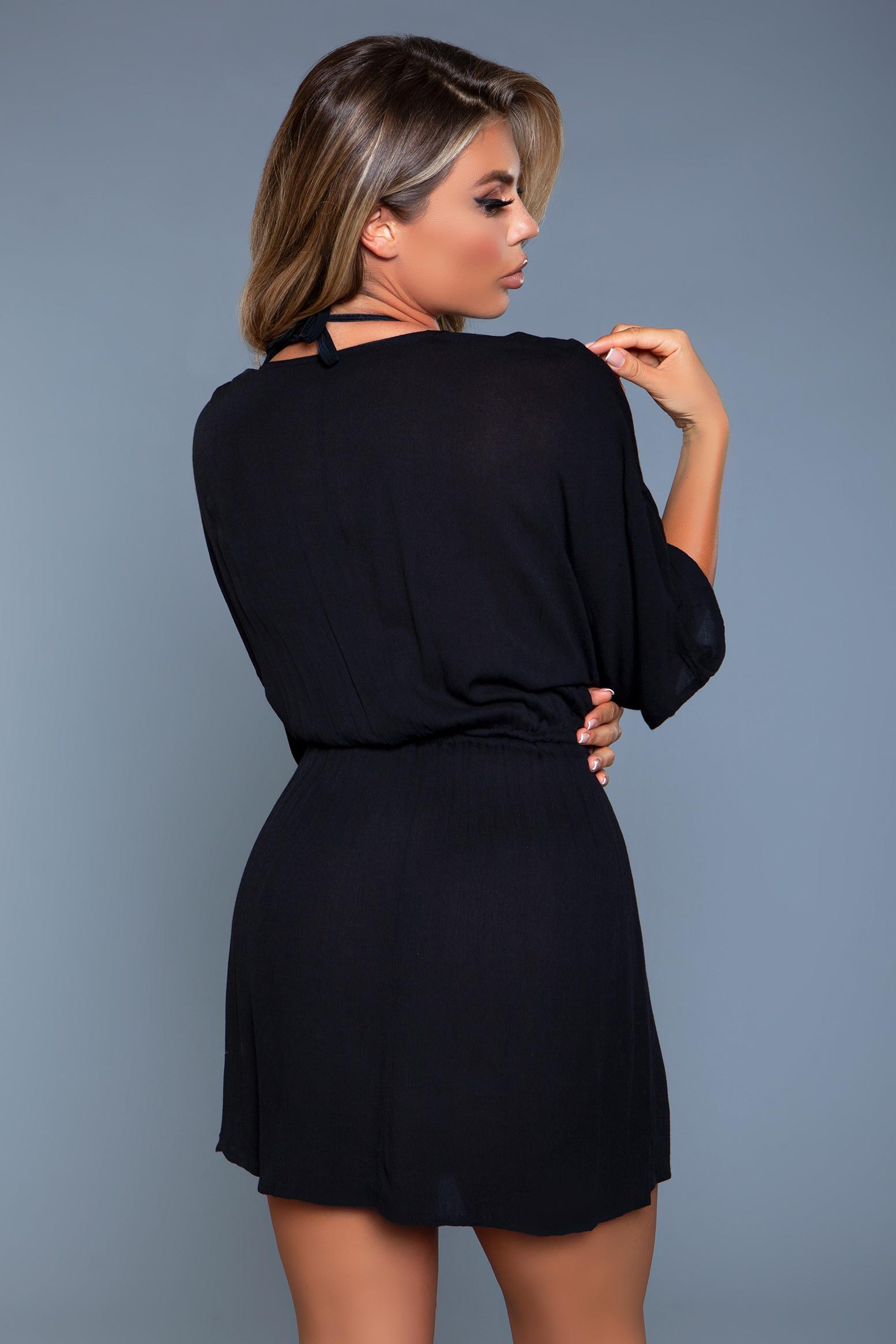 2133 Thalia Beach Dress Black