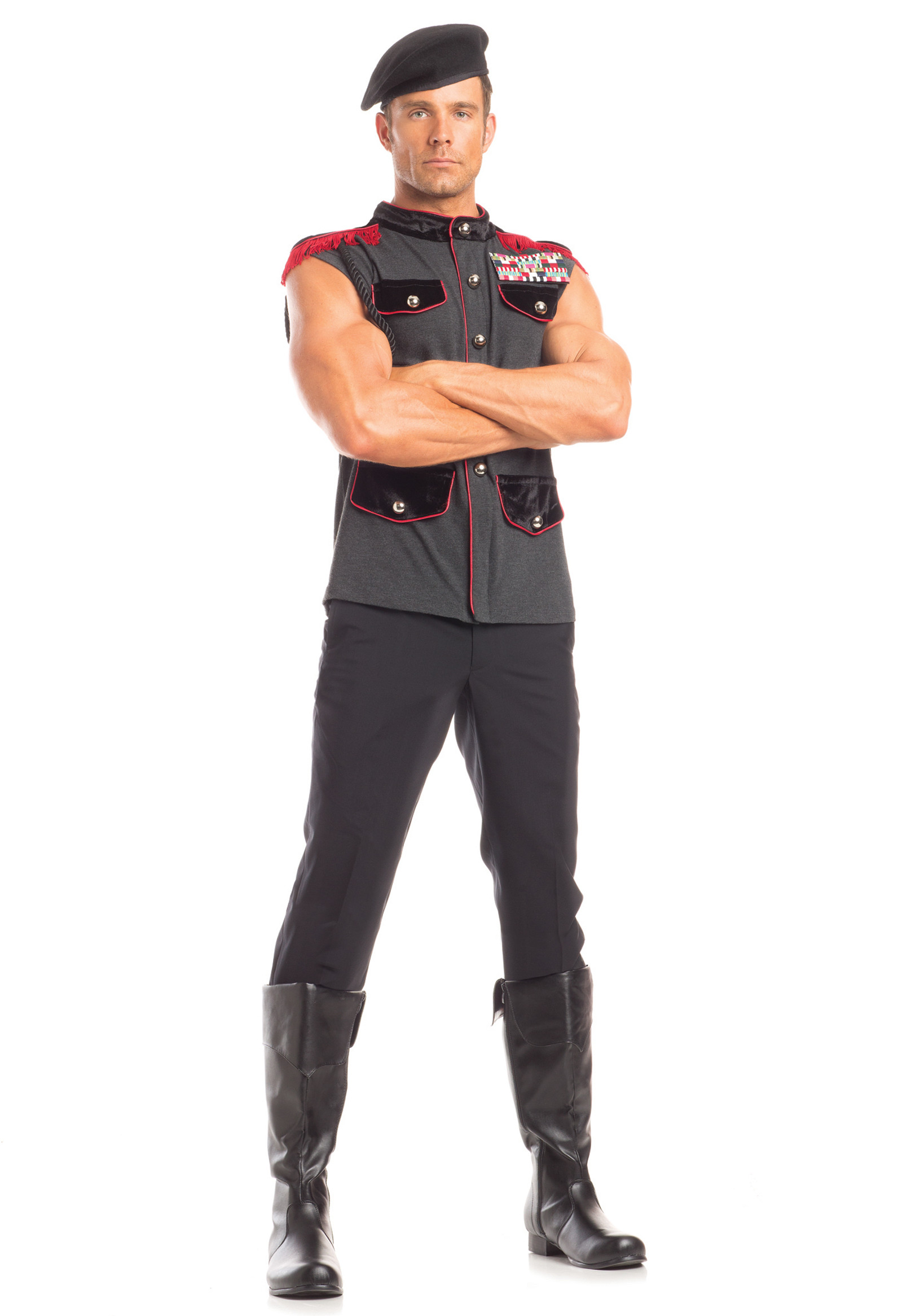 BW1615 2 Piece Outstanding Officer Costume