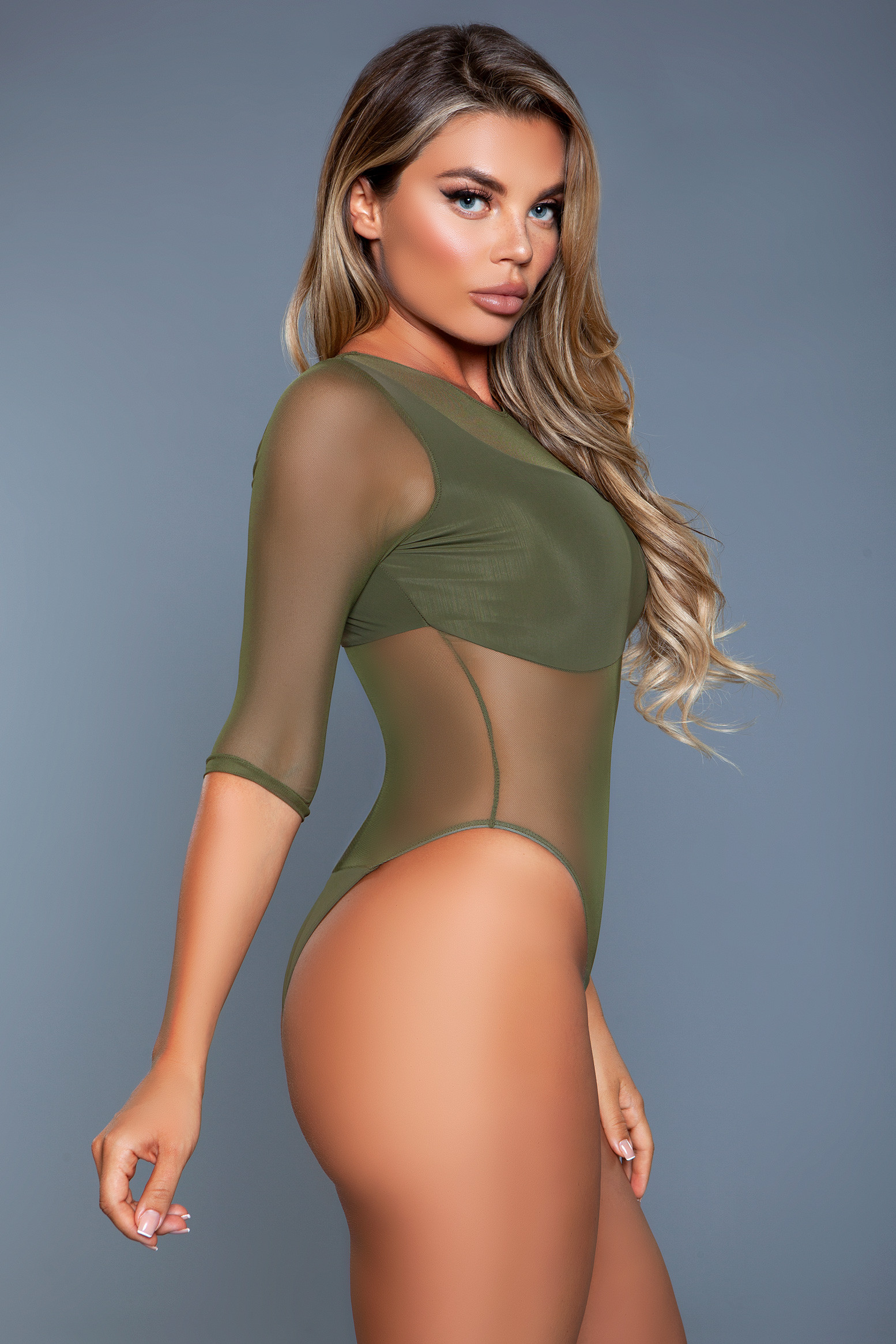 2131 Olive Swimsuit