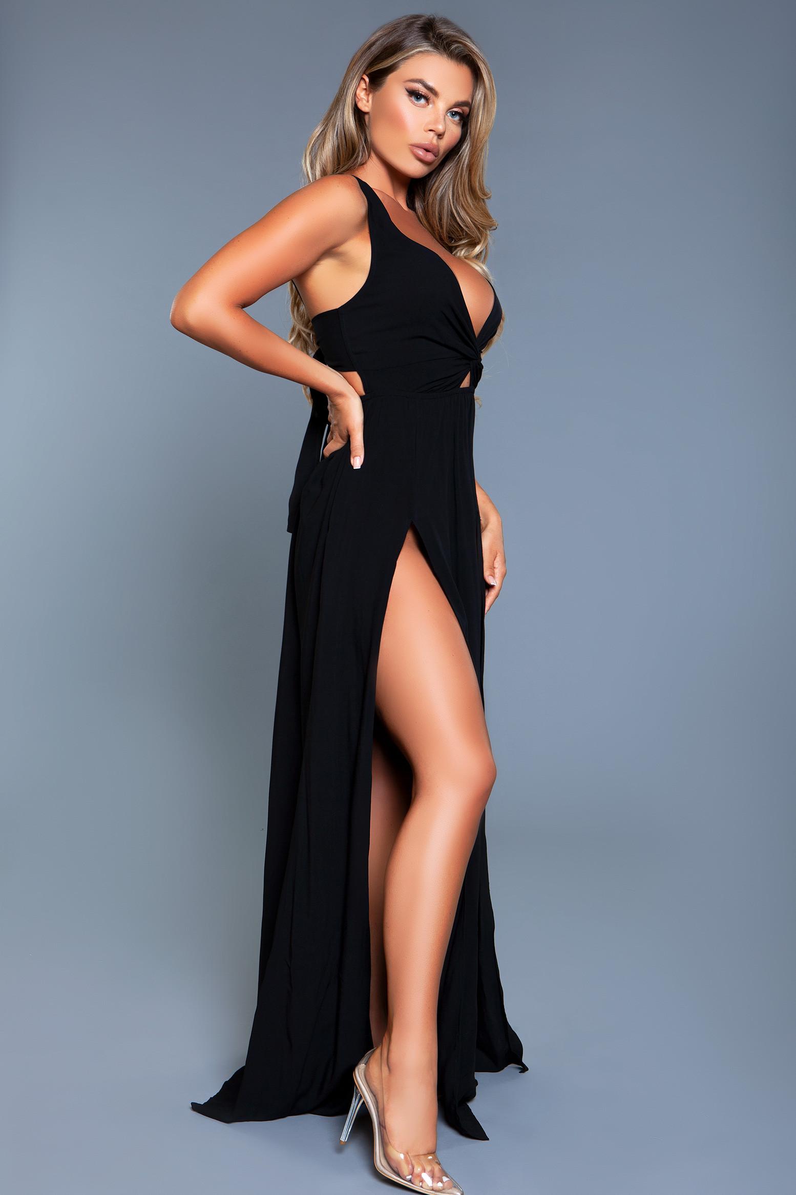 2134 Freya Maxi Dress Black