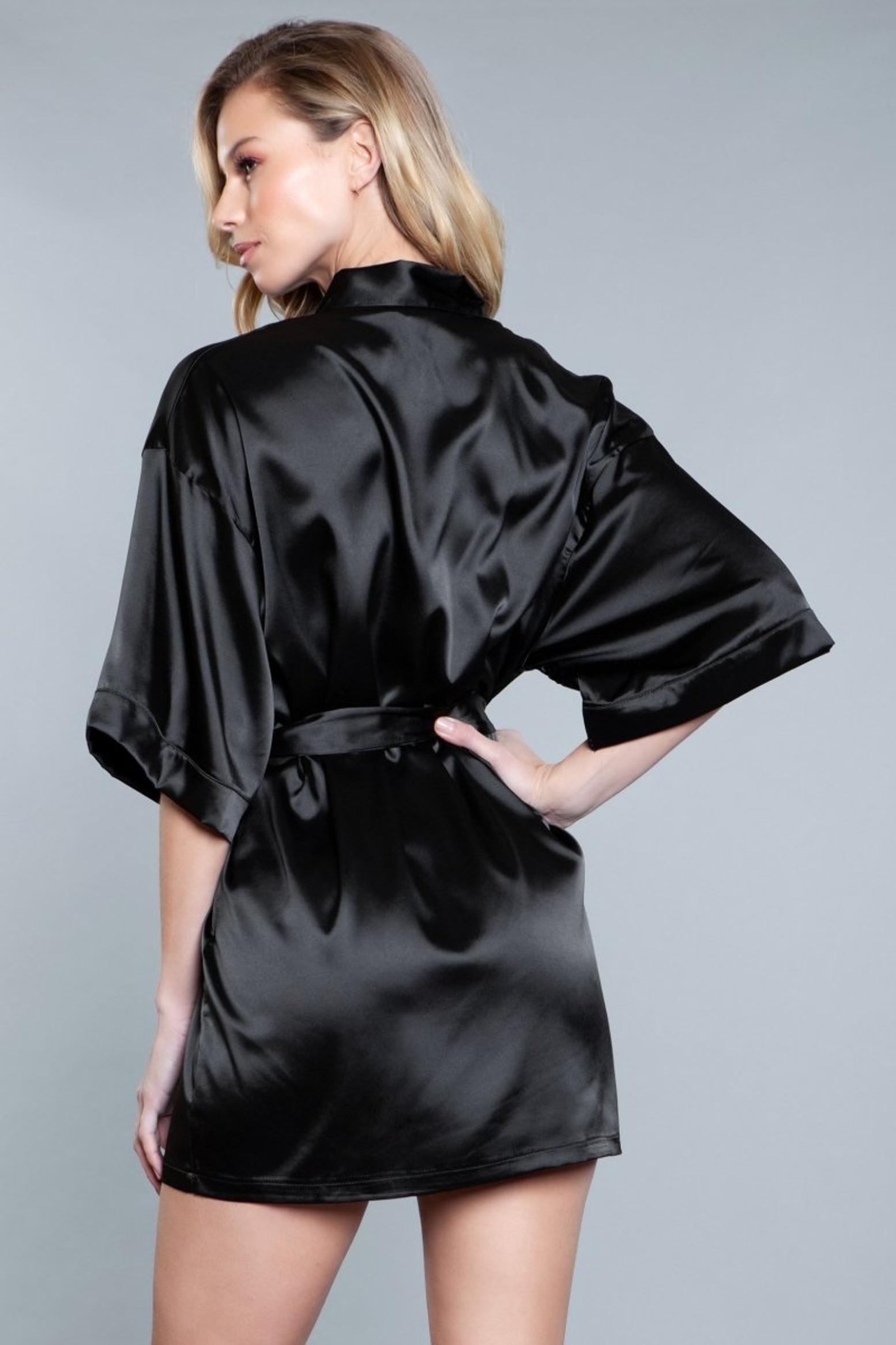 1947 Home Alone Robe - Black