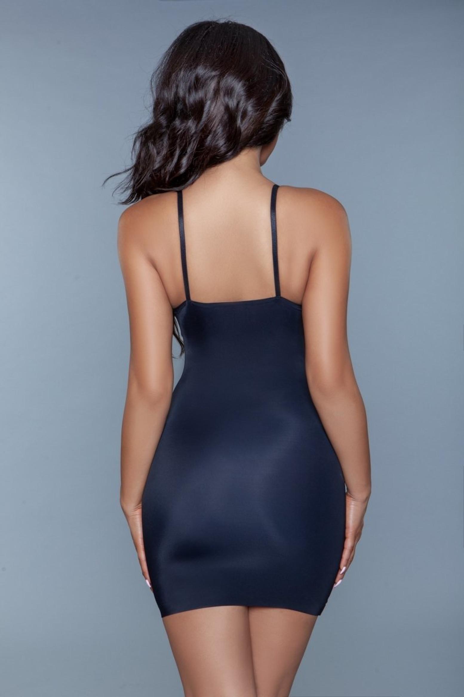 2009 Curved Craze Shapewear Dress Black