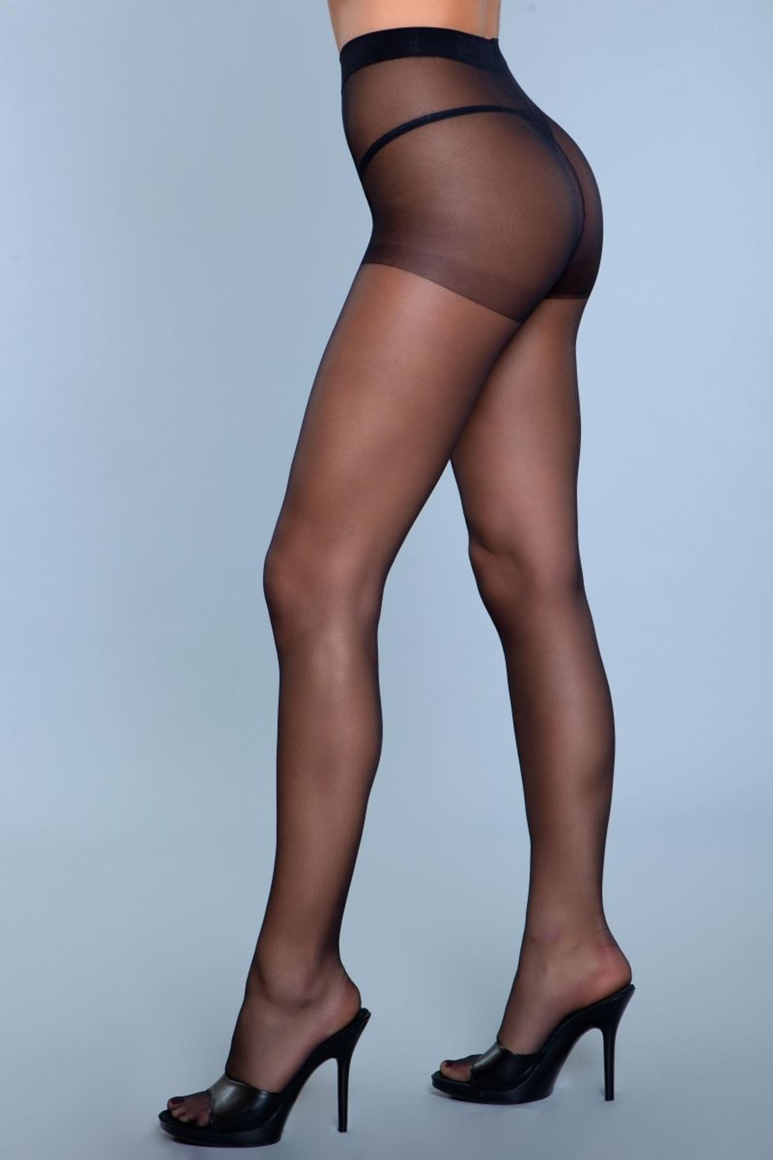 1923 Skin To Skin Pantyhose Black