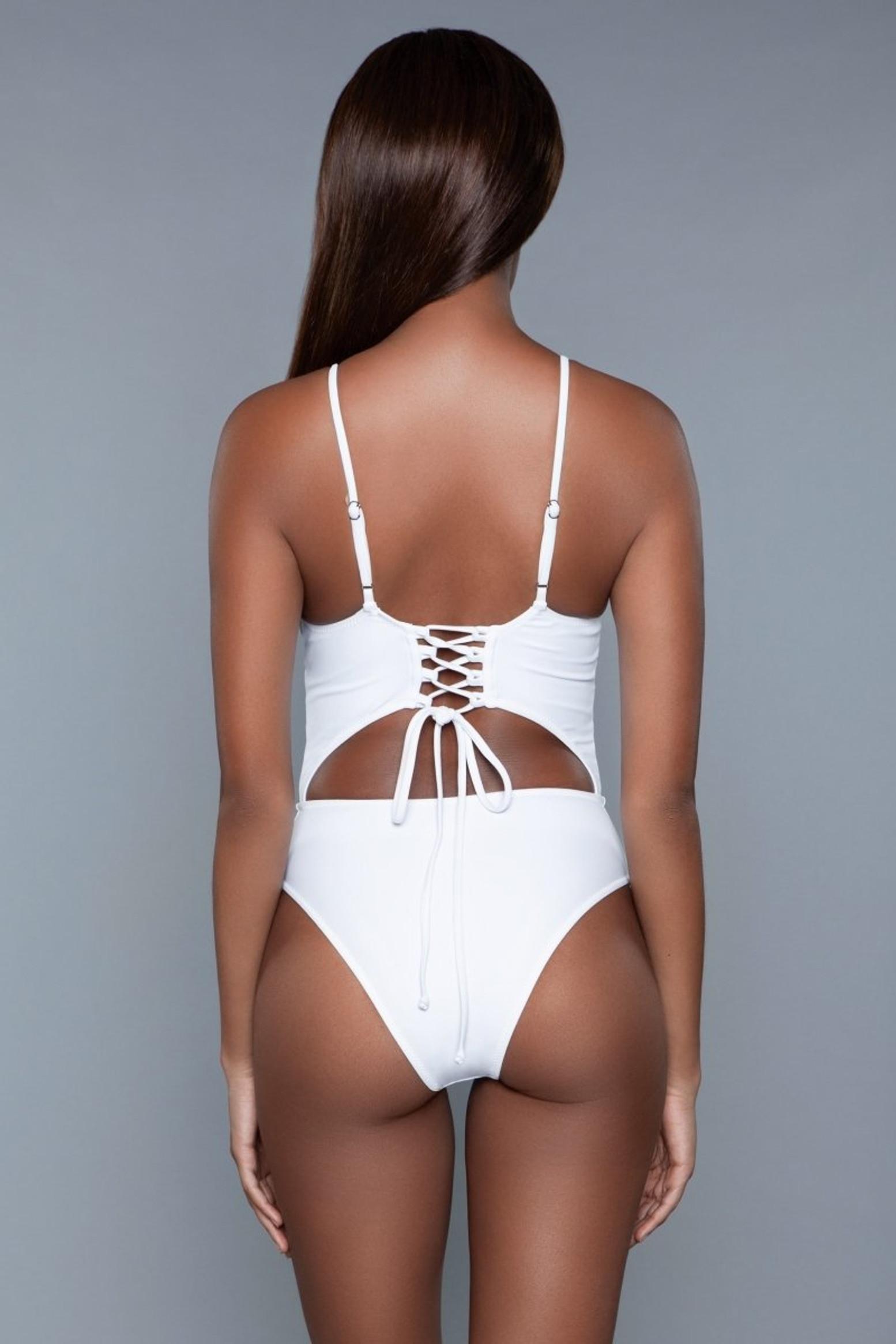 1978 Alina Swimsuit White