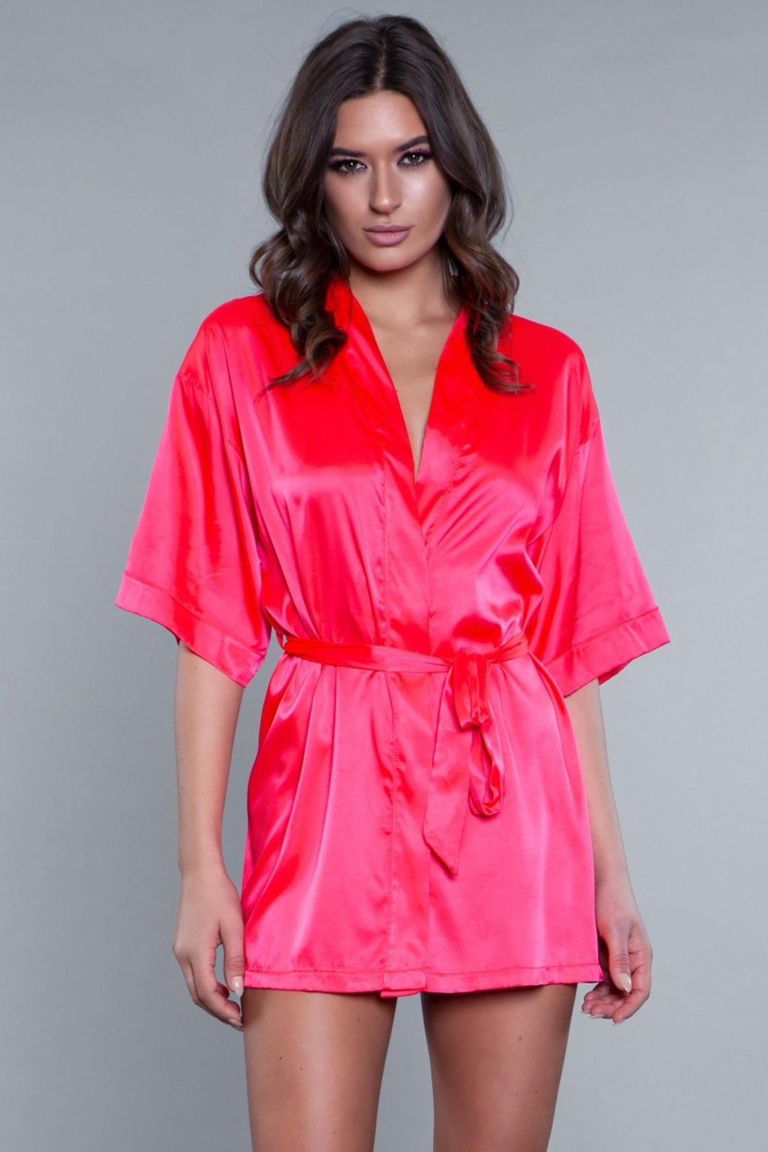 1947 Home Alone Robe - Hot Pink
