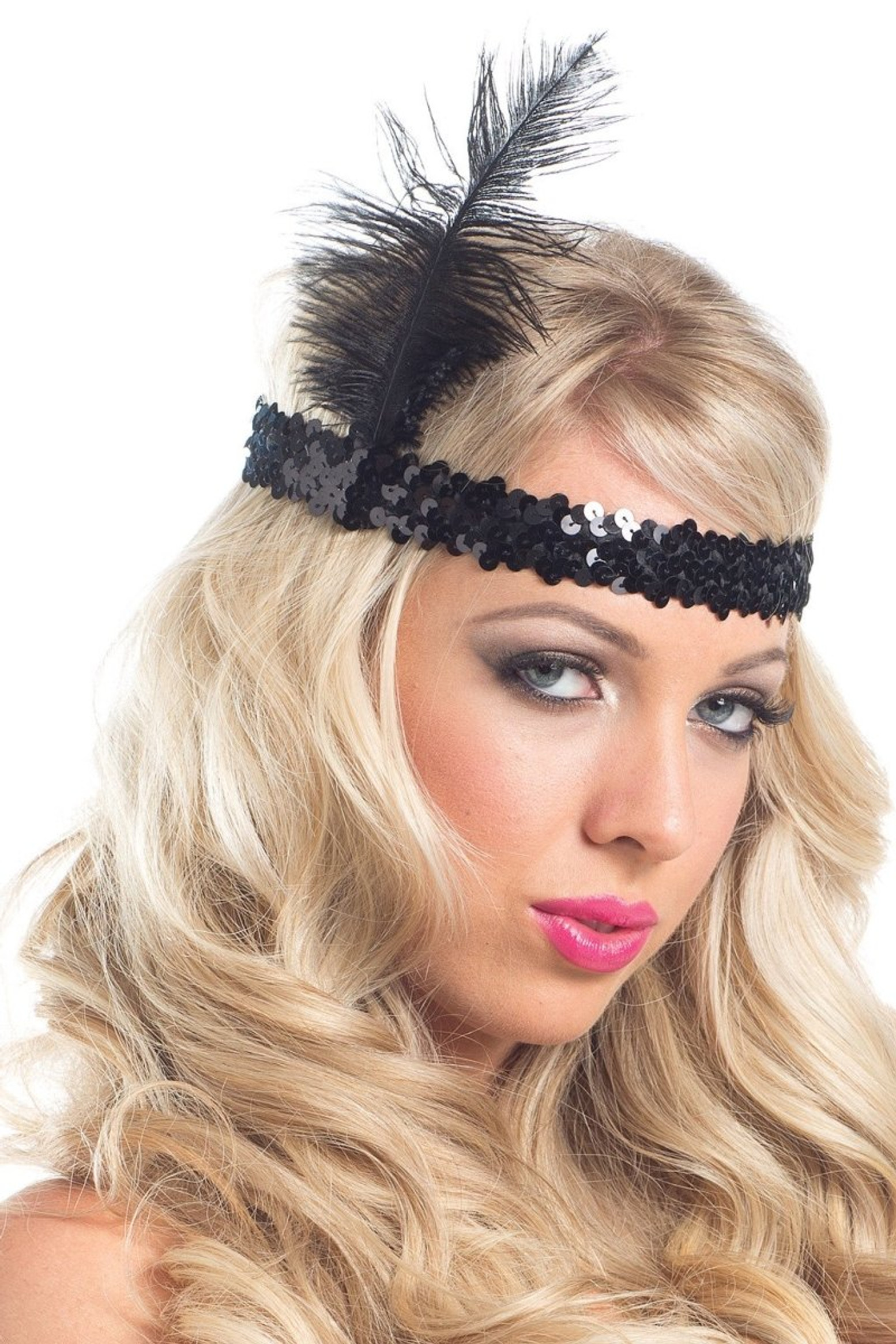 BW226 Feather Headpiece