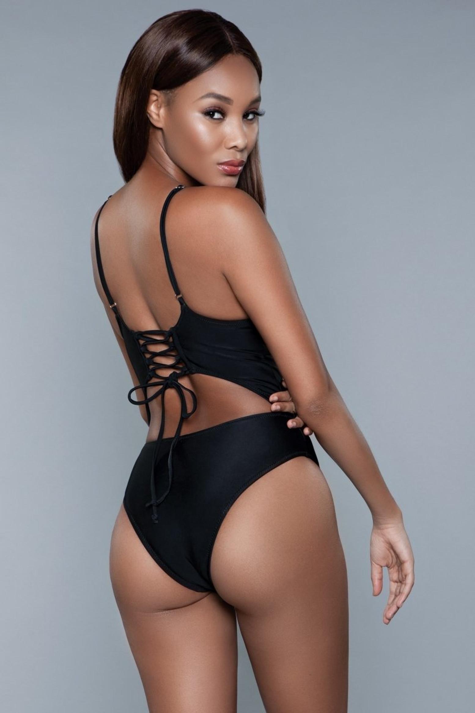 1978 Alina Swimsuit Black