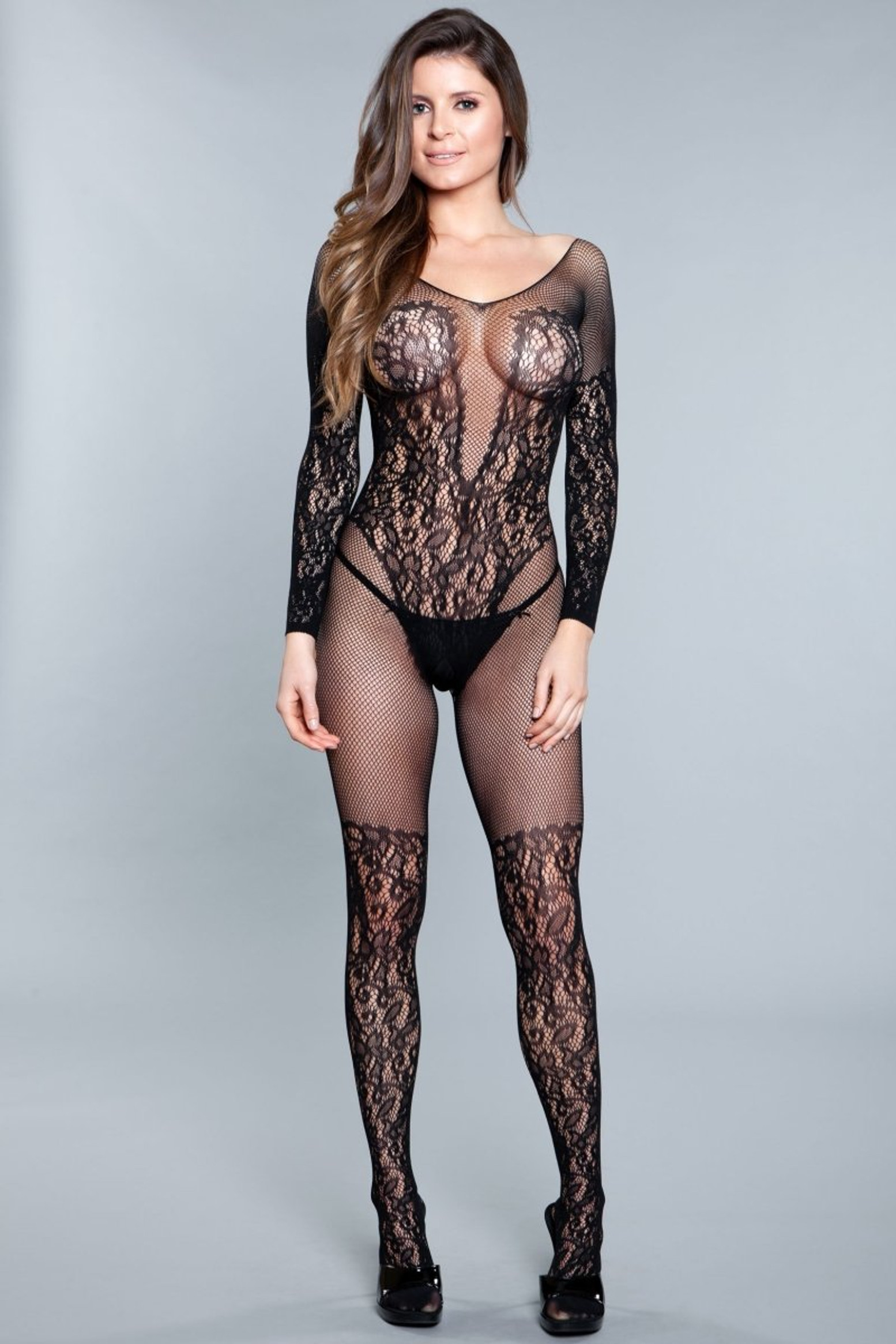 1910 Luv Me Right Bodystocking