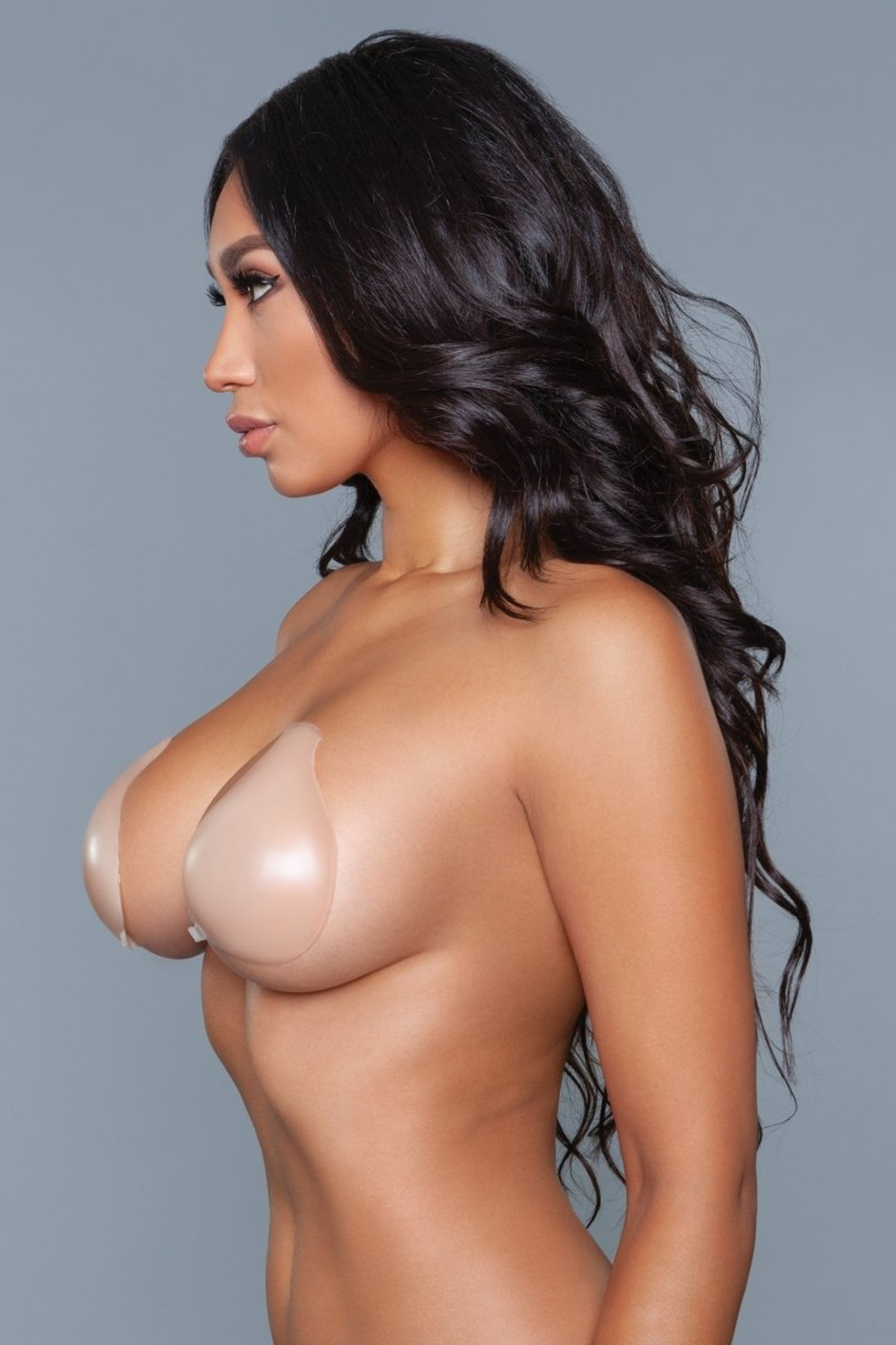 XW045 Droplet Bra Cups Nude
