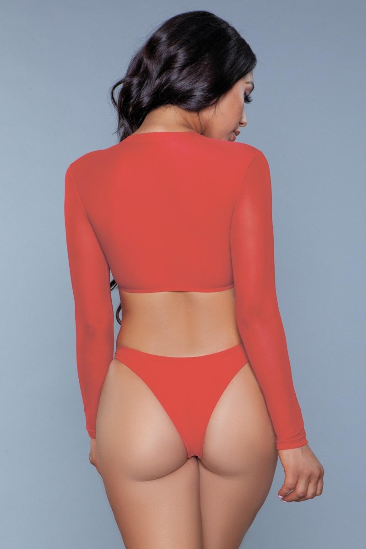 1980 Cardi 2 Piece Suit Red