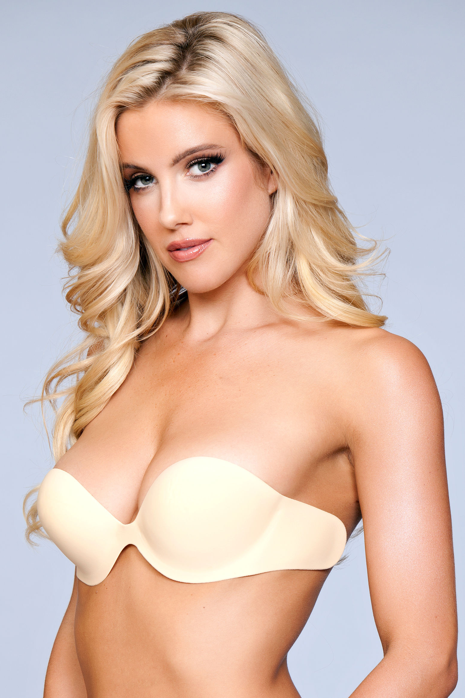 XB029 ND The Right Places Bra - Nude