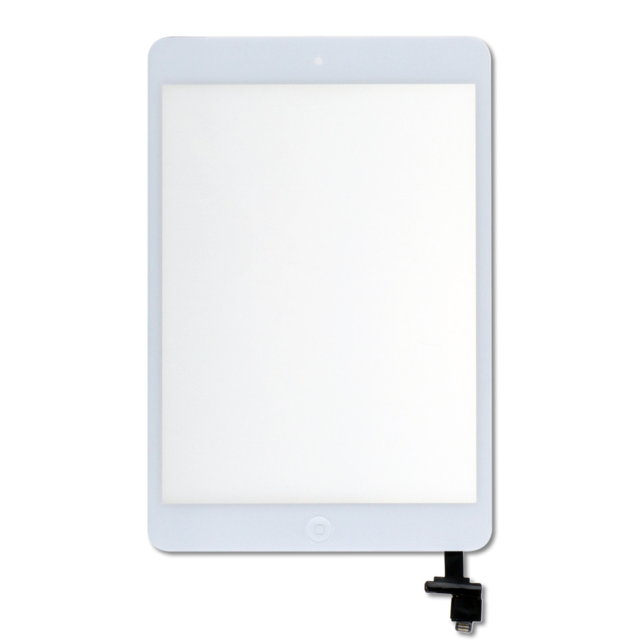 Digitizer with Home Button for Apple iPad Air White Front Glass Screen Panel