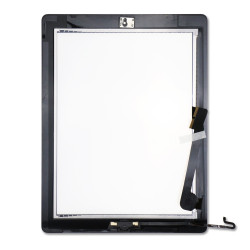 Touch Screen Digitizer With Home Button for iPad 4 - Black