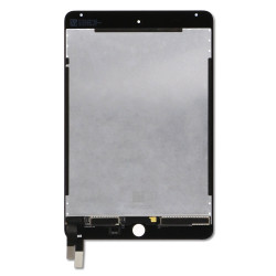 LCD ASSEMBLY WITH DIGITIZER FOR IPAD MINI 4 (SLEEP  WAKE SENSOR FLEX PRE-INSTALLED) (PREMIUM) (BLACK)