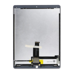 LCD and Touch Screen Digitizer with Pre-Installed Daughter Board for iPad Pro 12.9 (1st Gen) - white(Premium)