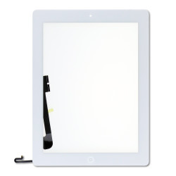 IPAD 4 SCREEN DIGITIZER WITH HOME BUTTON AND ADHESIVE