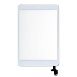 Digitizer with Home Button for iPad Mini  Mini 2 (PRIME) - white