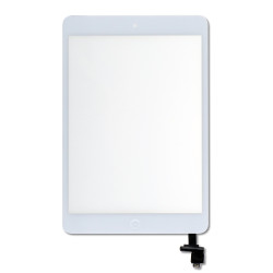 Touch Screen Digitizer for Apple iPad Mini and iPad Mini 2 - white - Includes IC Chip
