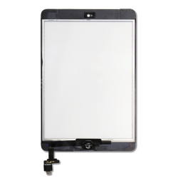 Touch Screen Digitizer with Home Button And IC Chip for iPad Mini & iPad Mini 2 - white