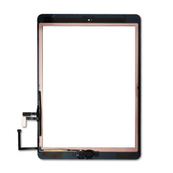 Touch Screen Digitizer With Home Button for iPad Air - Black (Premium)