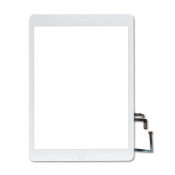 iPad 5 (2017) & iPad Air 1 Digitizer wHome Button & Adhesive (WHITE) (Premium Quality)