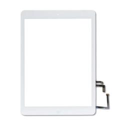 iPad 5 (2017) & iPad Air 1 Digitizer wHome Button & Adhesive (WHITE) (Premium Quality)