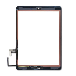 Touch Screen Digitizer With Home Button for iPad Air - White (Premium)