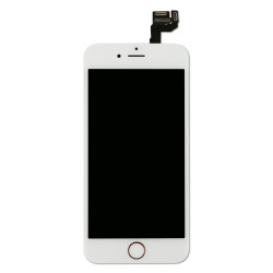 Front Glass Lens OCA Polarizer Cold Press FRAME Bezel Pre-installed For iPhone 6S
