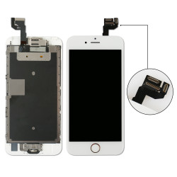 Complete LCD For iPhone 6S Touch Screen Digitizer Assembly +Home Button+Front Camera