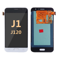 Samsung Galaxy J1 2016 J120 Screen Replacement LCD + Digitizer - White