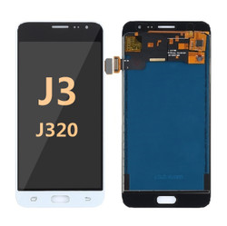 Samsung Galaxy J3 Screen Replacement LCD and Digitizer J320 2016 - white