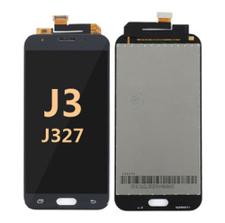 Samsung Galaxy J3 Screen Replacement LCD and Digitizer J327 2017 - Gray Black