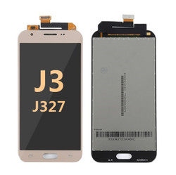 Samsung Galaxy J3 Screen Replacement LCD and Digitizer J327 2017 - gold