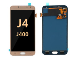 Samsung Galaxy J4 Screen Replacement LCD and Digitizer J400 2018 - Gold