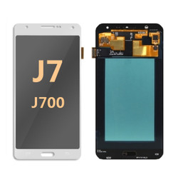 Samsung Galaxy J7 Screen Replacement LCD  J700 2015 - white