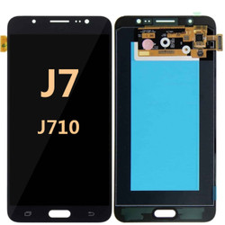 Samsung Galaxy J7 Screen Replacement LCD and Digitizer J710 2016 - Black