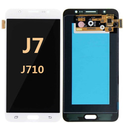 Samsung Galaxy J7 Screen Replacement LCD and Digitizer J710 2016 - white
