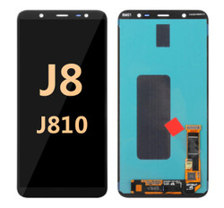 OLED Assembly for Galaxy J8 2018 (J810)  - Black