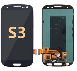 Back and front for Samsung Galaxy S3 LCD black