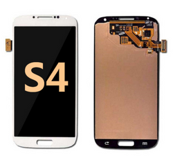 Back and front for Samsung Galaxy S4  LCD white