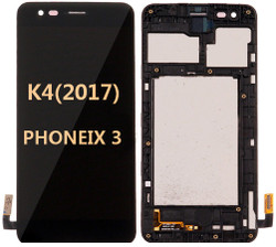 LG K4(2017) Phoenix 3  M150 with frame BLACK