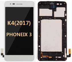 LG K4(2017) Phoenix 3  M150 with frame White